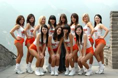 Hooters in Chengu, China - in any language, they're still Hooters...