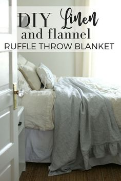 DIY Linen and Flanne