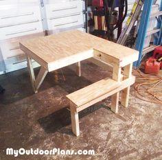 DIY Shooting Bench