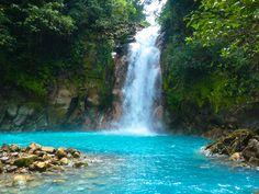 7 Natural Wonders in Costa Rica - Rio Celeste (Celeste River)   The Real Deal…