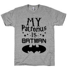 My Patronus is Batman T-Shirt