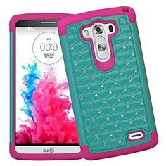 myLife Retro Mint Green + Pink Inside {Classy Diamond Duall Layer Design} 2 Piece Hybrid Reflex Case for the LG G3 Smartphone (Outer Rubberized Fit On Protector Shell + Internal Silicone SECURE-Grip Bumper Gel), http://www.amazon.com/dp/B00NVSFL7A/ref=cm_sw_r_pi_awdm_VnYnub1RFTSWH