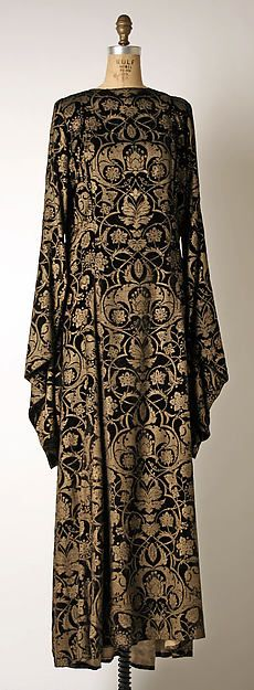 Tea gown silk 1930–32 Mariano Fortuny