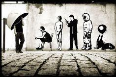 Brazilian graffiti artist and photographer Alexandre Orion http://pinterest.com/daniellapostma/