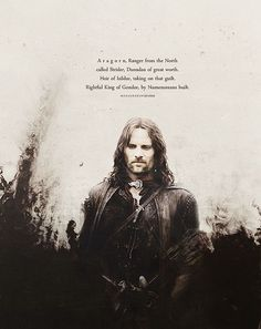 Find images and videos about LOTR, the lord of the rings and aragorn on We Heart It - the app to get lost in what you love. Gandalf, Aragorn Lotr, Legolas, Thranduil, Arwen, J. R. R. Tolkien, Into The West, Viggo Mortensen, Striders