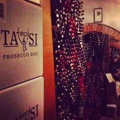 TASi in one of the best wine cellars in the world. #tasi #prosecco #organic #wine #invinotasi