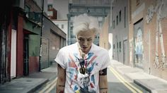 g dragon crooked hairstyle - Google Search