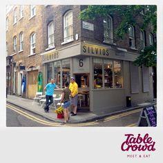 Silvio's Coffee House - Shoreditch London. Delicious bread's and meats