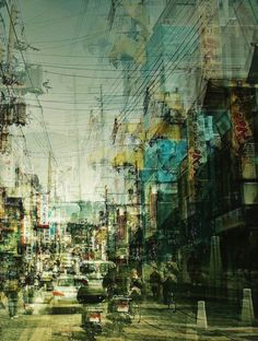 Stéphanie Jung Hectic Cityscape Photography  [http://www.fubiz.net/2012/04/16/hectic-cityscape-photography/]
