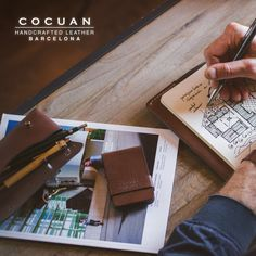 Some Cocuan goods www.cocuan.com #handmade #hechoamano #handcraftedleather #handmadeleather #leatherwork #leather #cocuan #mataro #barcelona