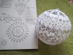 Best 12 Crochet Christmas Bauble Doily – Page 517562182178910164 – SkillOfKing.Com – SkillOfKing. Crochet Garland, Crochet Ball, Crochet Ornaments, Crochet Snowflakes, Crochet Chart, Free Crochet, Crochet Christmas Decorations, Christmas Crochet Patterns, Holiday Crochet