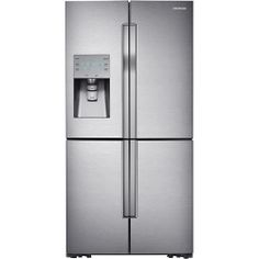 ~Samsung - 31.7 Cu. Ft. 4-Door French Door Refrigerator with Convertible Zone - Stainless-Steel - Larger Front...this is the perfect fridge!!!