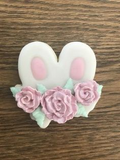 Bunny Ears with Flowers Cookie Cutter - The Cookie Cutter Club cookie cutters are affordably priced and come in various sizes and cutting depths.  These cookie cutters can be used to make decorated cookies using royal icing. Animal Cookie Cutters, Easter Cookie Cutters, Metal Cookie Cutters, Easter Cookies, Holiday Cookies, Cookie Dough, Farm Cookies, Flower Cookies, Decorated Cookies