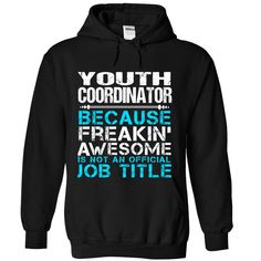 (Tshirt Discount Today) Youth Coordinator [TShirt 2016] Hoodies, Funny Tee Shirts