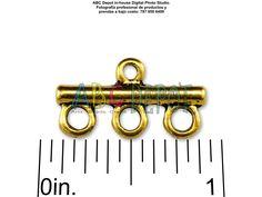 #Conector #Connetor #Link en #Metal 3-1 color #Oro antiguo de 21x11mm. Bolsita con 5, Código: 31H21
