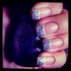 Frenzy finger nails :)