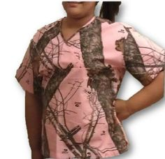 Mossy Oak Pink Camo Womens Scrub Shirt Top Made In USA Licensed Product S-3X (X-Small, Mossy Oak Break Up Pink) Mossy Oak Pink,http://www.amazon.com/dp/B00HRSK0H6/ref=cm_sw_r_pi_dp_oWMZsb1XKNSF0N7X