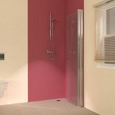 Fold Away Wet Room Shower Screens