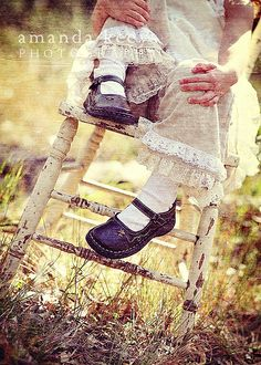 ©amandakeeysphotography    farm3.static.flickr.com/2320/1652681252_f3cf7f49db_o.jpg    Bren sent us the fabo shoes. The clothes? Matilda Jane ;) I think I might let you wait to see the rest of them though... ;)     shop  shoes