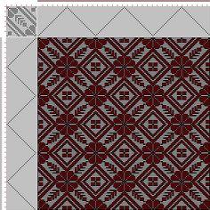 Drawdown Image: Plate 70, No. 7, Neues Build-und Muster-Buch zur Beforderung der Edlen Leinen-und Bild-Weberkunst, Johann Michael Kirschbaum, 24S, 24T