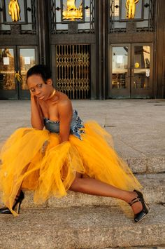 Couture Long Tulle Skirt. Women's adult tutu by Deemai on Etsy, $108.00