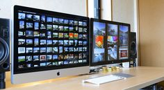 iMac 27inch with Cinema Display 27inch