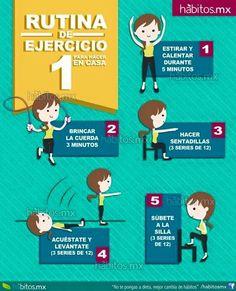 Rutina de ejercicio...