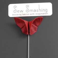 Valentine Boutonniere Origami Prom Corsages by SewSmashing on Etsy