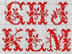 Alfabeto rosso con foglie B