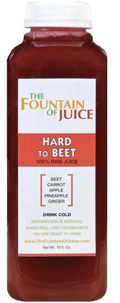 The Fountain of Juice Raw Juice Cold-Pressed No-HPP Hard to Beet Pack) juicing 101 Detox Juice Cleanse, Healthy Juice Recipes, Best Smoothie Recipes, Juicer Recipes, Healthy Juices, Detox Recipes, Healthy Smoothies, Raw Food Recipes, Healthy Drinks