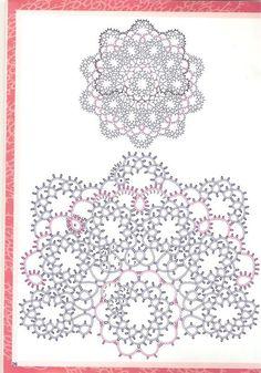 Кружевоплетение. Фриволите | ВКонтакте Needle Tatting, Tatting Lace, Mad Tatter, Tatting Patterns Free, Happy Flowers, Doilies, Needlework, Origami, Free Pattern