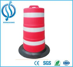 Road Safety Anti-Collision Bucket and Plastic Traffic Barrier Drum