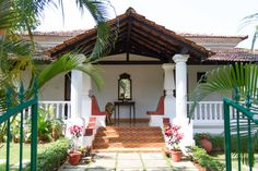 Goa Homestay - A beautifully renovated 140 years old heritage Portuguese villa situated in the idyllic, quaint & friendly village of Moira.