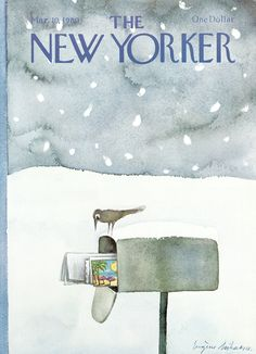 The New Yorker - Monday, March 10, 1980 - Issue # 2873 - Vol. 56 - N° 3 - Cover by : Eugène Mihaesco