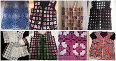 Komşu Kıskandıran 35 Şık Örgü Yelek Modelleri Moda Emo, Cardigan, Lace Knitting, Summer Dresses, Blouse, Outfit, Women, Instagram, Fashion