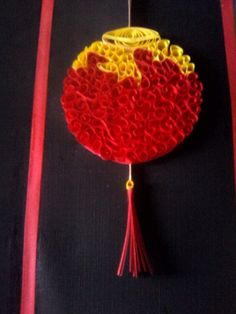 Lampion quilling..happy CNY..