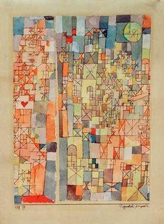 Paul Klee, Dogmatische komposition on ArtStack #paul-klee #art More