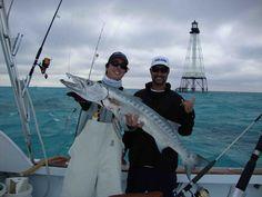 florida fishing charter boat Ewwww baracuda