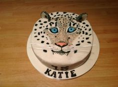 Snow Leopard | Cakes | Pinterest