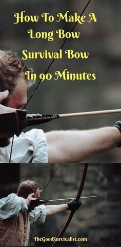 This long bow survival bow is great! The following video will show you how to make it the easiest way in under 90 minutes. Please see the notes section below the video which will give you some added insights. #survivalequipment