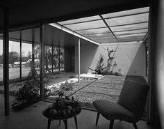 The Revere Quality House, built in 1948 on Siesta Key, was designed by Paul Rudolphe   Photo by Ezra Stoller