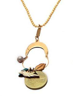 Trendy Jewelry | Twisted Silver | Celebrity Jewelry | Funky Jewelry - Tweet necklace