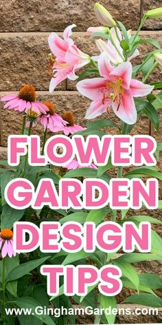 Do you struggle with flower garden design? What flowers or plants look good together? Where to place your flowers in the garden? Get practical tips for flower garden design for the home gardener. #ginghamgardens Flower Garden Plans, Flower Garden Design, Garden S, Garden Ideas, Simple Flowers, Amazing Flowers, Amazing Gardens, Beautiful Gardens, Best Perennials