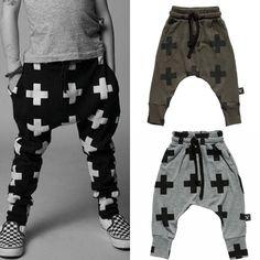 3ba957dd140cd US $19.55 |Hot KIKIKIDS Unisex fashion kids Harem pants 100%Cotton NUNUNU  cross printed Feet pants cute baby boys pant Le pantalon d'enfant-in Pants  from ...
