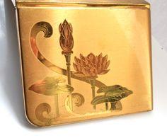 Brass Elgin CIgarette Case 1950s