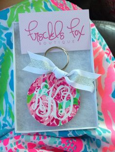 My Lilly keychain