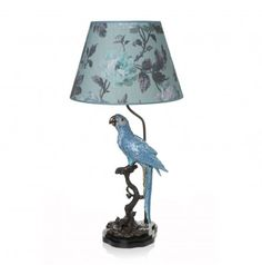 HOUSE OF HACKNEY Parrot Lampstand - Blue http://www.houseofhackney.com/home/decorative/house-of-hackney-parrot-lamp-stand-blue.html