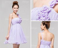 are the flowers really tacky? I feel like it's cute but it's you guys' jobs to tell me when something is not so cute hahaha.  lavender bridesmaid dresses short bridesmaid dresses by fitdesign, $89.00