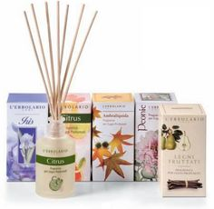 Home products - scented sticks, candles & sachets for drawers