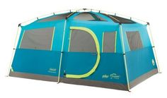 Coleman 8 Person Tenaya Lake Fast Pitch Cabin Tent with Closet
